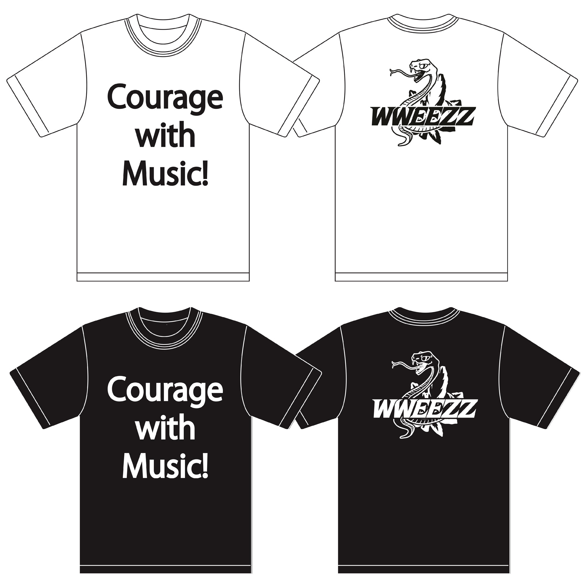 〜Courage with Music!〜 限定Tシャツ